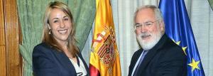 CAÑETE SE REÚNE CON LA CONSEJERA DE GANADERÍA, PESCA Y DESARROLLO RURAL DE CANTABRIA